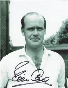 Brian Close, Cricket, Genuine Signed Autograph (02)